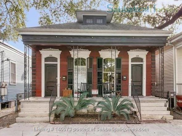 THE COTTAGE ON CANAL ST Home Rental in New Orleans, Louisiana, United States 1