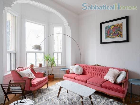 Large Victorian 2-bed , 1.5 bath home in Queen West Home Rental in Toronto, Ontario, Canada 1