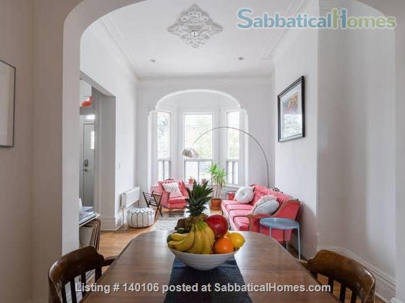 Large Victorian 2-bed , 1.5 bath home in Queen West Home Rental in Toronto, Ontario, Canada 2