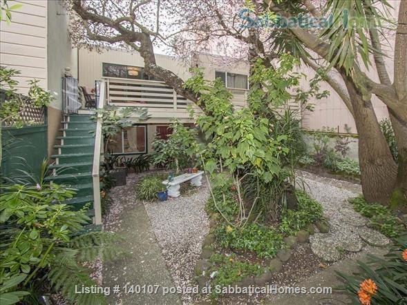 Heart of SF, Garden Studio: pet-friendly,  garage! Privacy! Street Parking! Home Rental in San Francisco, California, United States 1