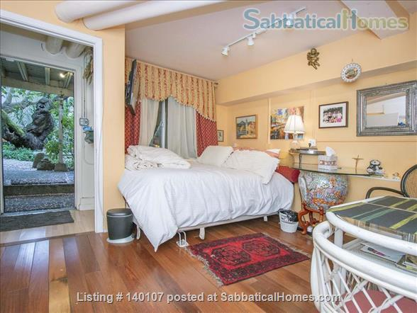 Heart of SF, Garden Studio: pet-friendly,  garage! Privacy! Street Parking! Home Rental in San Francisco, California, United States 4