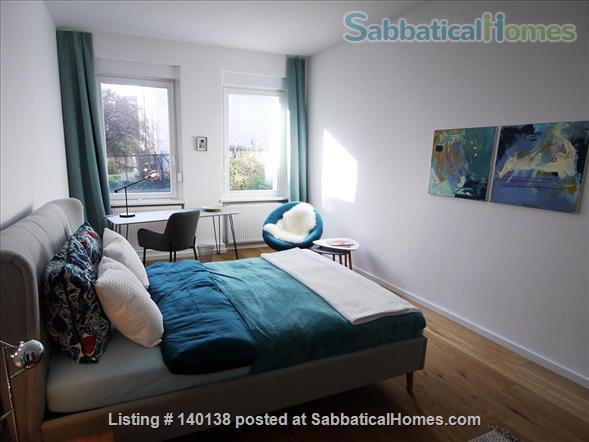 Beautifully furnished 2-room design-appartement with garden - bright and quiet in Berlin - Pankow Home Rental in Berlin, Berlin, Germany 1