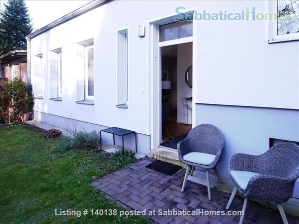 Beautifully furnished 2-room design-appartement with garden - bright and quiet in Berlin - Pankow Home Rental in Berlin, Berlin, Germany 3