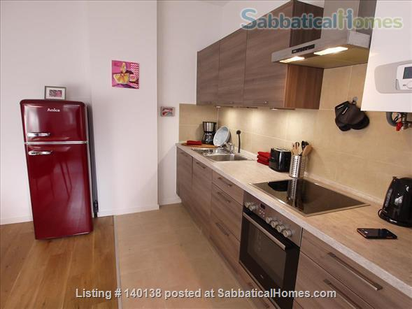 Beautifully furnished 2-room design-appartement with garden - bright and quiet in Berlin - Pankow Home Rental in Berlin, Berlin, Germany 4