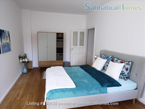 Beautifully furnished 2-room design-appartement with garden - bright and quiet in Berlin - Pankow Home Rental in Berlin, Berlin, Germany 5