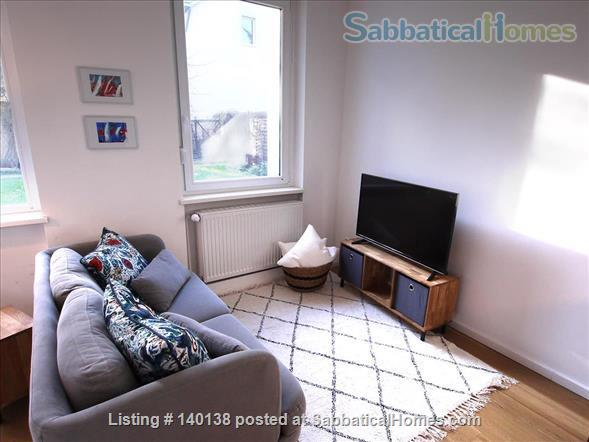 Beautifully furnished 2-room design-appartement with garden - bright and quiet in Berlin - Pankow Home Rental in Berlin, Berlin, Germany 6