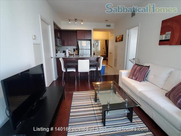 Downtown Furnished 2 Bedrooms + Large Den,  2 Bathrooms next to Union subway, Harbourfront Home Rental in Toronto 1