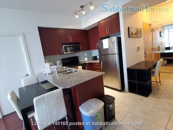 Downtown Furnished 2 Bedrooms + Large Den,  2 Bathrooms next to Union subway, Harbourfront Home Rental in Toronto, Ontario, Canada 0