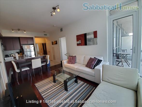 Downtown Furnished 2 Bedrooms + Large Den,  2 Bathrooms next to Union subway, Harbourfront Home Rental in Toronto 3