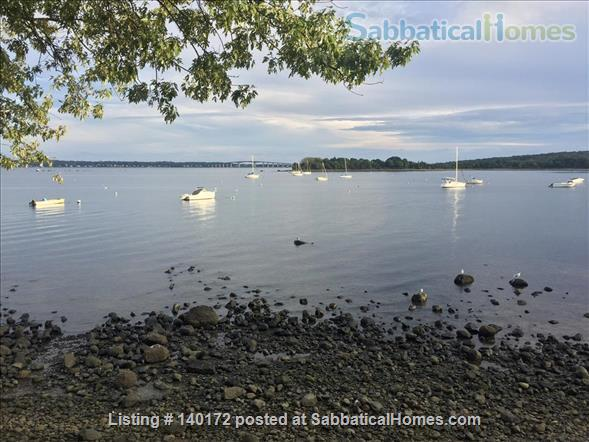 Quiet Beach Cottage Ideal for Thinking and Writing  Home Rental in North Kingstown, Rhode Island, United States 3