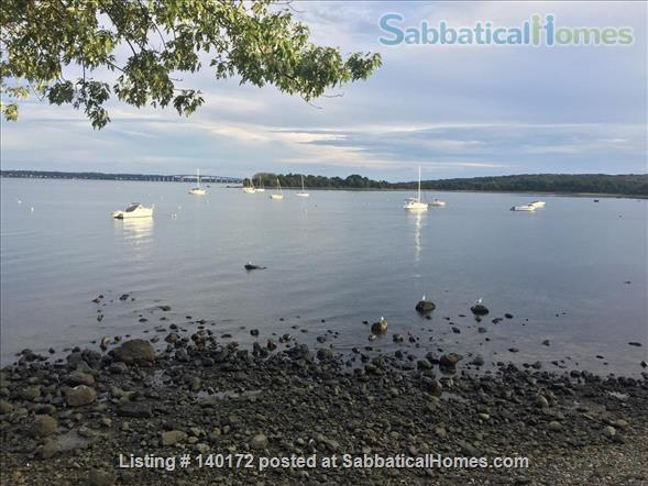 Quiet Beach Cottage Ideal for Thinking and Writing  Home Rental in North Kingstown, Rhode Island, United States 5