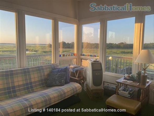 Cape Cod Marsh/Waterfront Writer's/Artist's Secluded Home Home Rental in Eastham, Massachusetts, United States 1