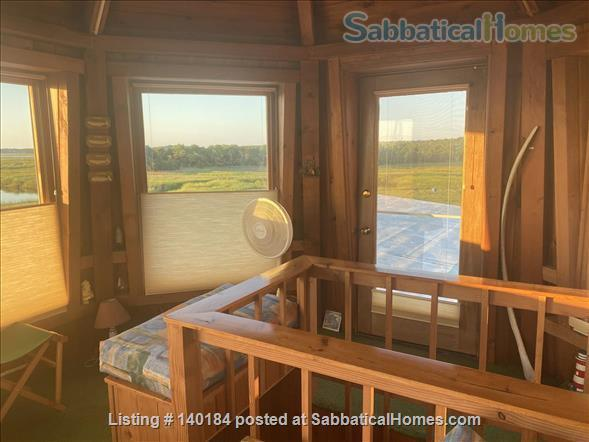Cape Cod Marsh/Waterfront Writer's/Artist's Secluded Home Home Rental in Eastham, Massachusetts, United States 3