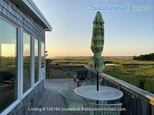 Cape Cod Marsh/Waterfront Writer's/Artist's Secluded Home Home Rental in Eastham, Massachusetts, United States 7