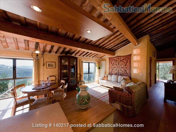 Stunning Farmhouse with Breathtaking Views and Pool Home Rental in Lucca, Tuscany, Italy 1