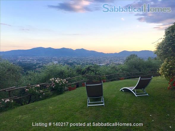 Stunning Farmhouse with Breathtaking Views and Pool Home Rental in Lucca, Tuscany, Italy 2