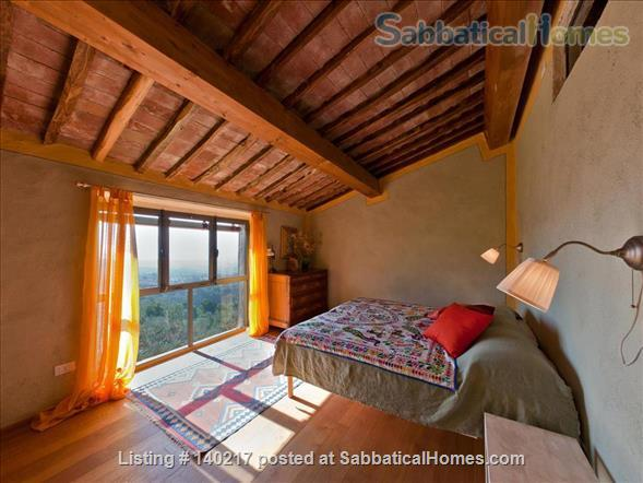 Stunning Farmhouse with Breathtaking Views and Pool Home Rental in Lucca, Tuscany, Italy 3