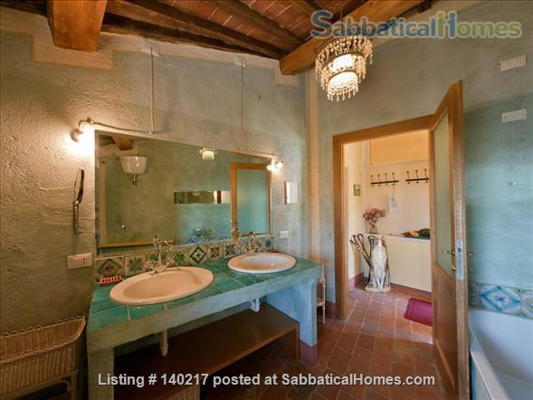 Stunning Farmhouse with Breathtaking Views and Pool Home Rental in Lucca, Tuscany, Italy 6