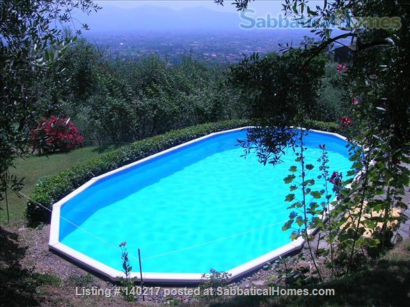 Stunning Farmhouse with Breathtaking Views and Pool Home Rental in Lucca, Tuscany, Italy 8