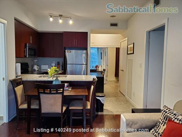 Downtown Furnished 2 Bed + Den 2 Bath Condo, next to Union Subway & Financial Area Home Rental in Toronto, Ontario, Canada 2