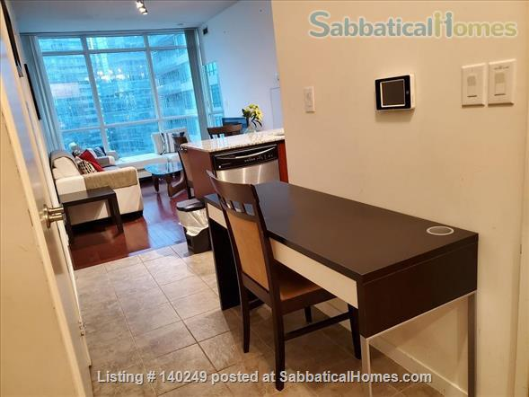 Downtown Furnished 2 Bed + Den 2 Bath Condo, next to Union Subway & Financial Area Home Rental in Toronto, Ontario, Canada 4