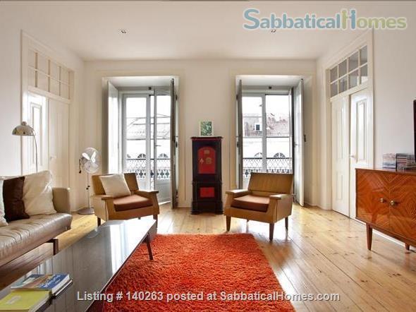 Sunny Apartment- Downtown Lisbon- Baixa/Rossio Home Rental in Lisbon, Lisboa, Portugal 2