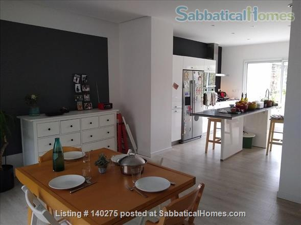 Welcome in our birghtful house with a garden in the city center of Brest Home Rental in Brest, Bretagne, France 3