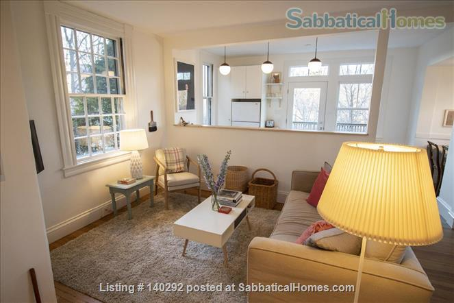 One-Bed Overlooking Charles River; Just Renovated Home Rental in Watertown, Massachusetts, United States 1