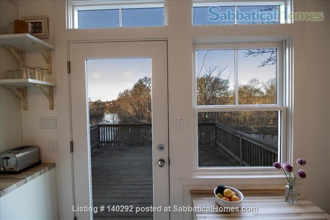 One-Bed Overlooking Charles River; Just Renovated Home Rental in Watertown, Massachusetts, United States 2