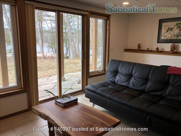 EXTRAORDINARY APARTMENT NESTLED IN WOODS BY COVER NEAR LONG BEACH IN HISTORIC PHIPPSBURG MAINE Home Rental in Phippsburg, Maine, United States 1