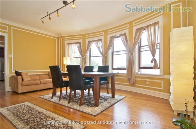 SUBLIME 27 WINDOW PENTHOUSE WITH A COVERED GARAGE IN WEST ROGERS PARK Home Rental in Chicago, Illinois, United States 1