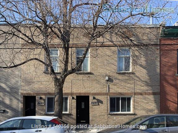 Apartment with backyard in hip downtown neighbourhood, next to metro Home Rental in Montreal, Quebec, Canada 9