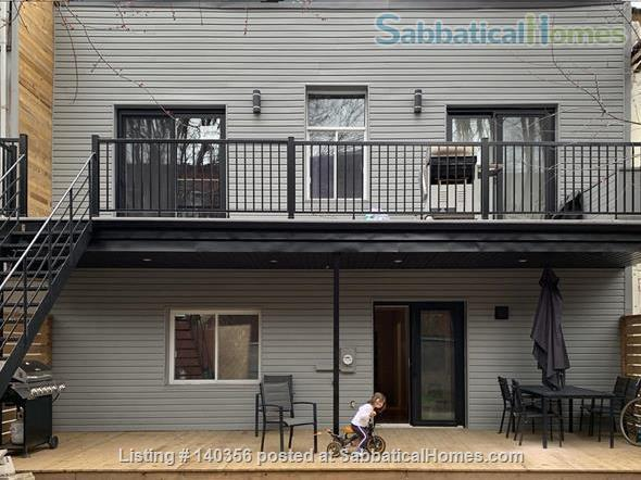 Apartment with backyard in hip downtown neighbourhood, next to metro Home Rental in Montreal, Quebec, Canada 1