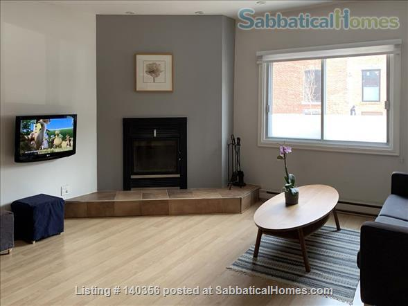 Apartment with backyard in hip downtown neighbourhood, next to metro Home Rental in Montreal, Quebec, Canada 0