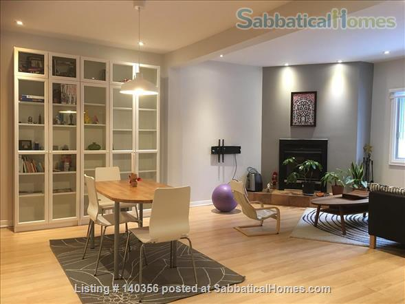 Apartment with backyard in hip downtown neighbourhood, next to metro Home Rental in Montreal, Quebec, Canada 2