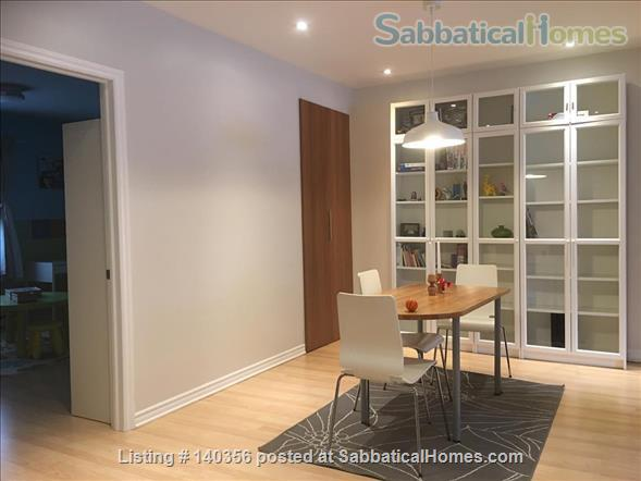 Apartment with backyard in hip downtown neighbourhood, next to metro Home Rental in Montreal, Quebec, Canada 3