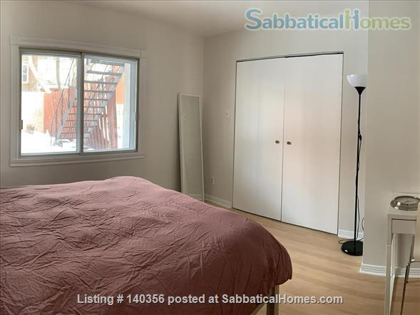 Apartment with backyard in hip downtown neighbourhood, next to metro Home Rental in Montreal, Quebec, Canada 5
