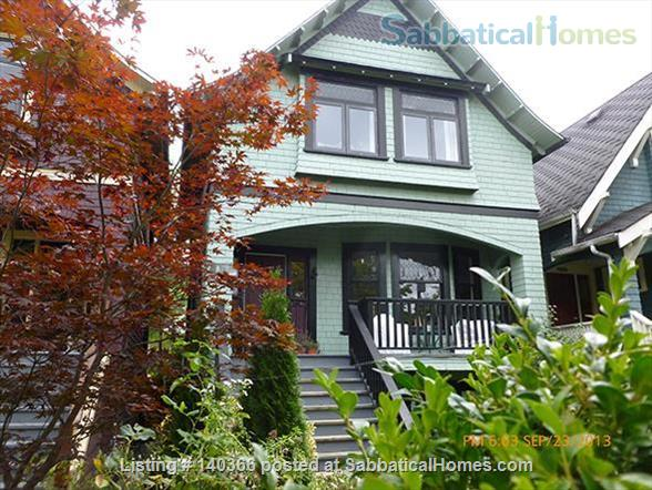 Beautiful KIts Heritage Home Home Rental in Vancouver, British Columbia, Canada 1