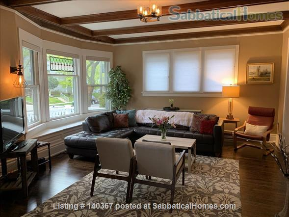 3 BR house close to UWM, Marquette, Lake Michigan, parks, beaches Home Rental in Milwaukee, Wisconsin, United States 0