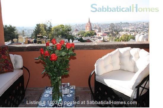 Beautiful Furnished San Miguel Casa Home Rental in San Miguel de Allende, Gto., Mexico 0