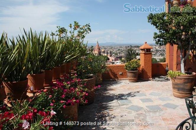 Beautiful Furnished San Miguel Casa Home Rental in San Miguel de Allende, Gto., Mexico 2