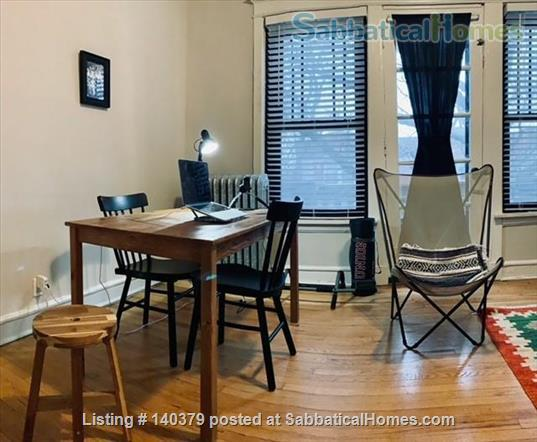 On-campus one bedroom apartment in Hyde Park Home Rental in Chicago, Illinois, United States 1