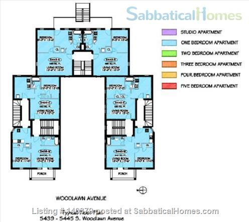 On-campus one bedroom apartment in Hyde Park Home Rental in Chicago, Illinois, United States 8