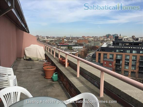 Fells Point Penthouse Condo Home Rental in Baltimore, Maryland, United States 8