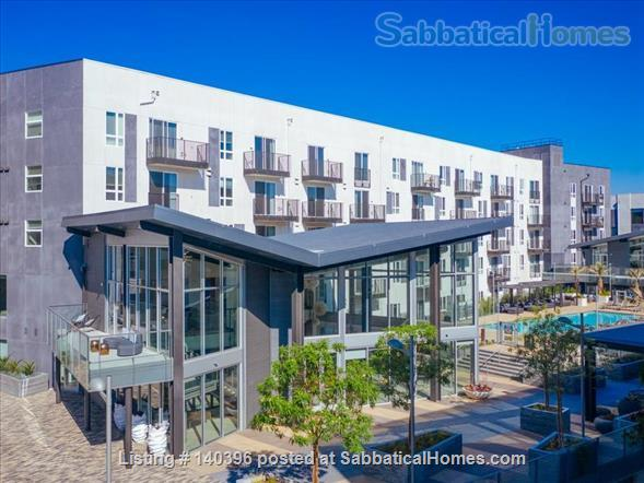 Landing Furnished Apartment at Downtown LA | Stylish New Apartment Near USC | Gym&Pool, Washer&Dryer, Rooftop Deck, Gaming Room and Full Kitchen! Home Rental in Los Angeles, California, United States 9