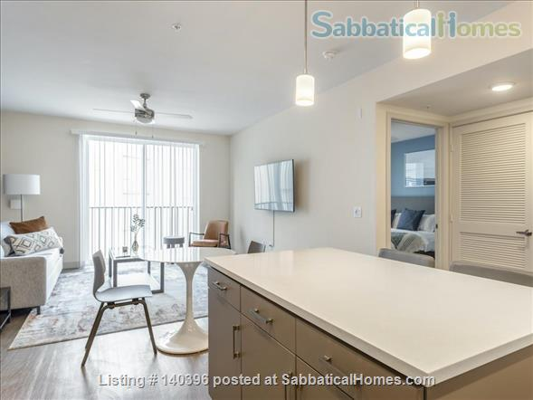 Landing Furnished Apartment at Downtown LA | Stylish New Apartment Near USC | Gym&Pool, Washer&Dryer, Rooftop Deck, Gaming Room and Full Kitchen! Home Rental in Los Angeles, California, United States 0