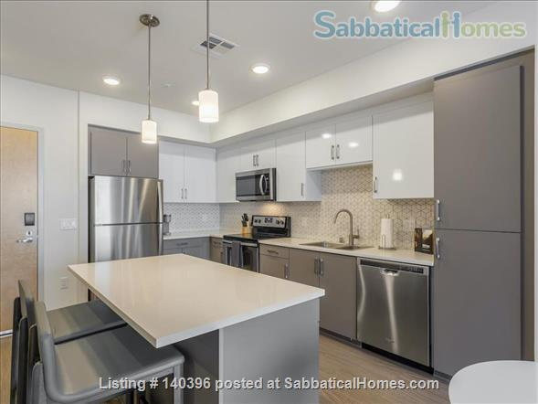 Landing Furnished Apartment at Downtown LA | Stylish New Apartment Near USC | Gym&Pool, Washer&Dryer, Rooftop Deck, Gaming Room and Full Kitchen! Home Rental in Los Angeles, California, United States 2