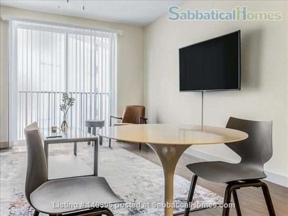 Landing Furnished Apartment at Downtown LA | Stylish New Apartment Near USC | Gym&Pool, Washer&Dryer, Rooftop Deck, Gaming Room and Full Kitchen! Home Rental in Los Angeles, California, United States 3