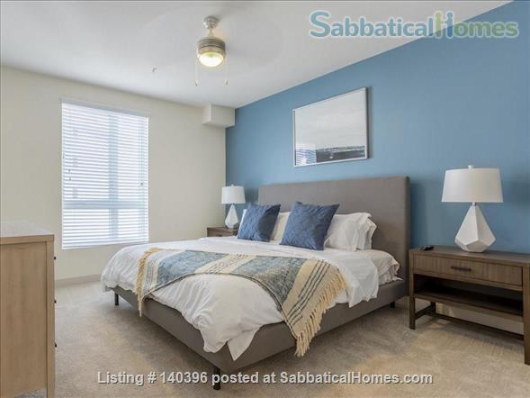 Landing Furnished Apartment at Downtown LA | Stylish New Apartment Near USC | Gym&Pool, Washer&Dryer, Rooftop Deck, Gaming Room and Full Kitchen! Home Rental in Los Angeles, California, United States 5