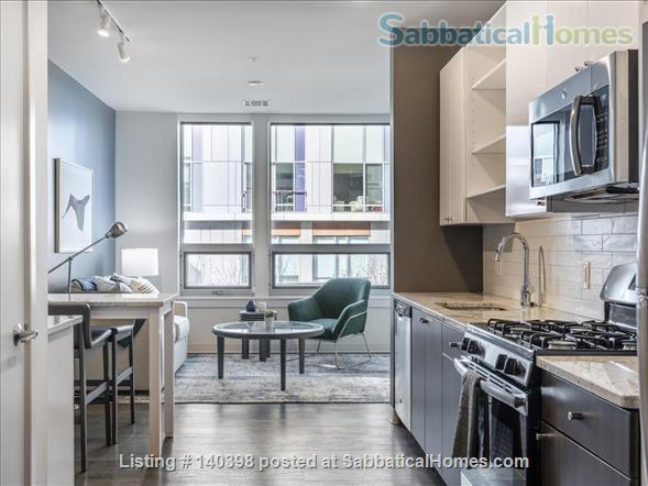 Landing Furnished Apartment at Cambridge | Walkable to MIT and Harvard | Full Kitchen, Gym&Pool, Washer&Dryer, Business Center, Air Conditioning Home Rental in Cambridge, Massachusetts, United States 0